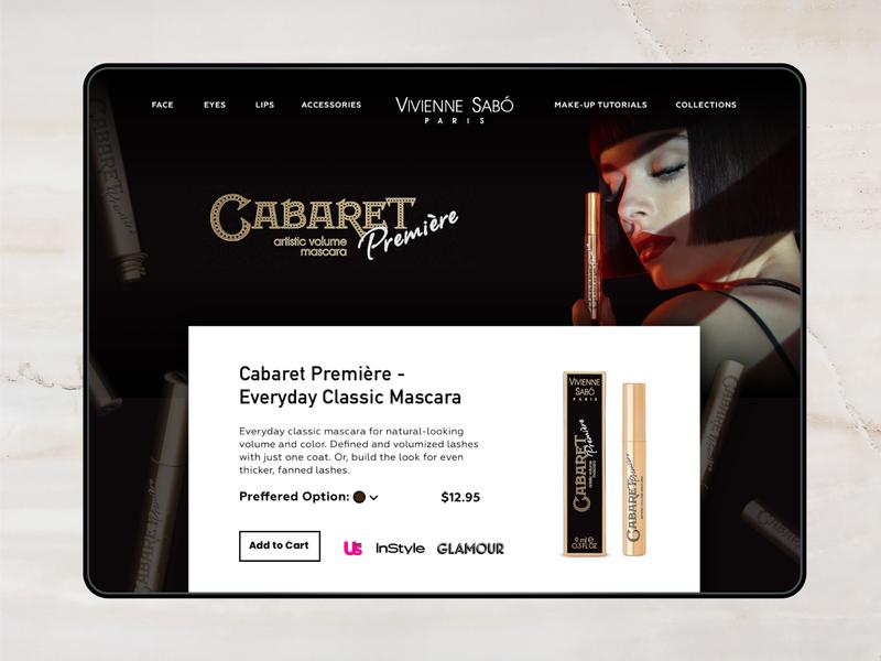 Vivienne Sabó Paris - Cosmetics Brand Homepage