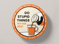 Coaster Design - Coffee Time