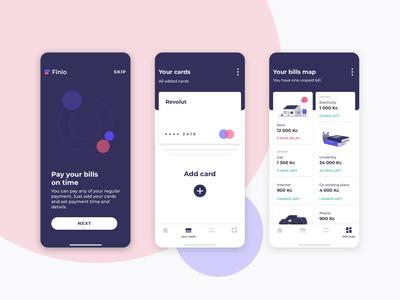 Mobile App - Finio