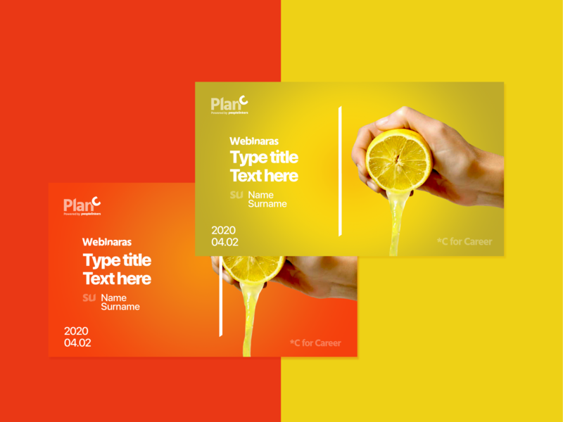 Banner Design - Lemon Squeeeeeze shape elements juicy fruits simple design banner design banners minimalist minimalism ui design branding composition graphic design
