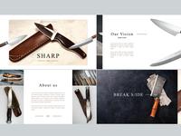 Sharp keynote design
