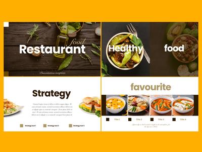Restaurant / Food keynote design