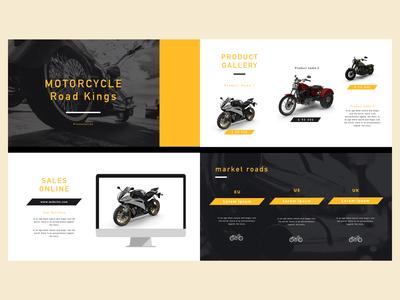 Motorcycle- Product - keynote design