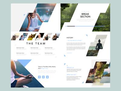 Yoga - Keynote presentation design