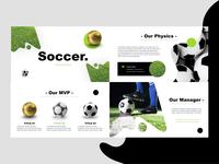 Soccer Keynote design