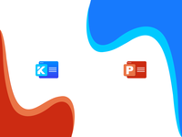 Icon design for applications - Keynote / Powerpoint applications