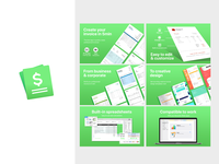 Invoice - Icon & Screenshot design