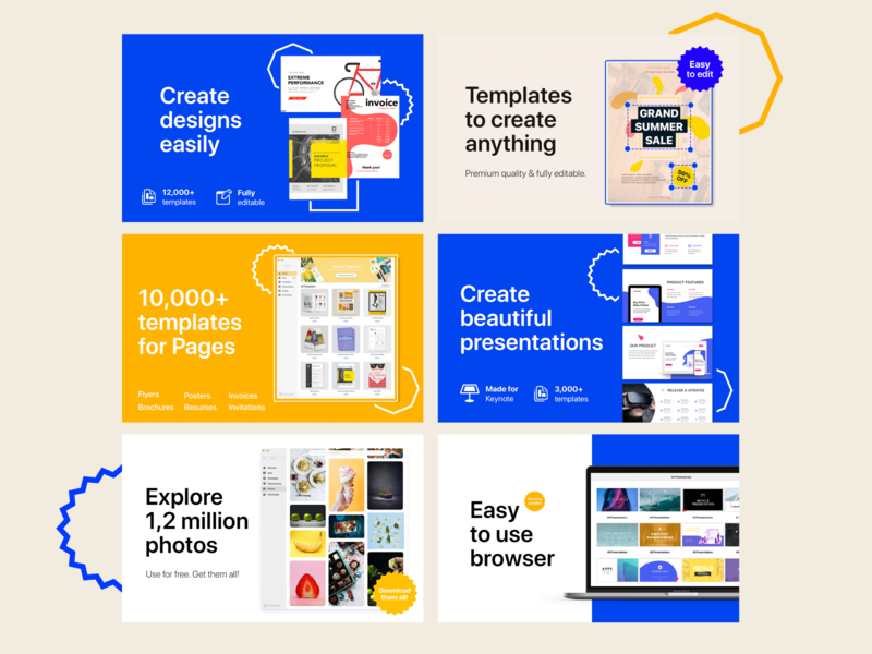 Design Kit - Create Anything / Finished design design app apple store macos app design application branding ui ux simple design composition graphic design