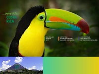 Slider Tucan for Medical Congress in Costa Rica