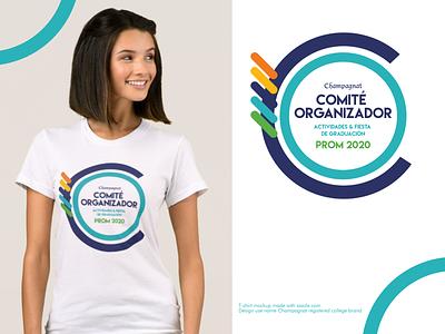Champagnat • Comité Organizador // final ok latest branding school logo design tshirt
