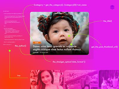 Blog post item - fight for relevance adobexd post item showme design system loop software architecture post blog