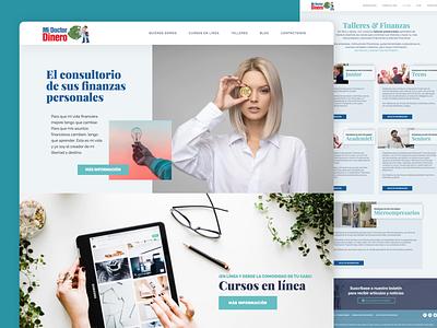 midoctordinero adobexd home doctordinero dinero doctor design consultorio coach finance online courses advisor money homepage