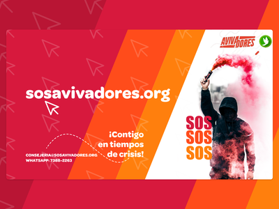 poster 16:9 for tv adobexd colofull consejeria forchurch help sos poster ads sosavivadores
