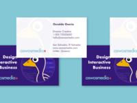 oswosmedia.com business card