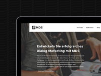 MDS — Corporate Identity & Website