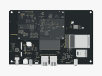 pcb motherboard illustration