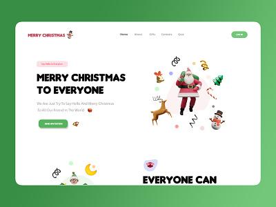 Merry Christmas :-) merry christmas ux amptus branding home screen strap design