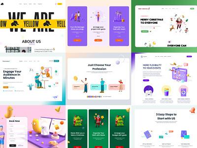 My Top 9 2020 app ux amptus illustration app design top top 9 2020 design 2020 branding home screen strap design