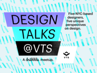 Design Talks @ VTS, 2019