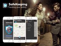Safekeeping App UI/UX