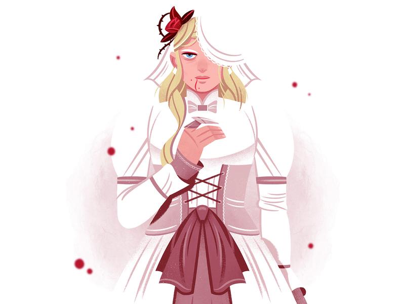 Dolingen the Vampire design vampire gameart game illustration character