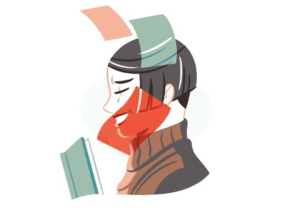 Using Impact on Your Stories medium editorial book character illustration
