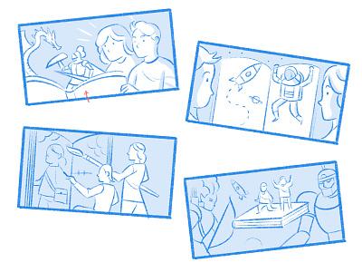 Children's Book Illustrators illustrators ufo childrens book children space character illustration