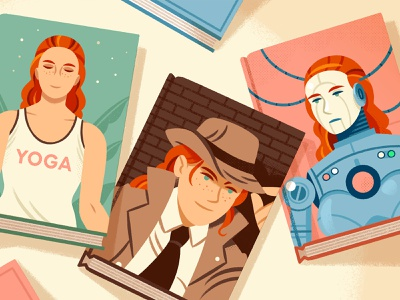 35 Popular Genres, Explained reedsy writing books editorial character illustration
