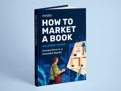 How to Market a Book (Free book) book cover cover freebie publishing book character illustration