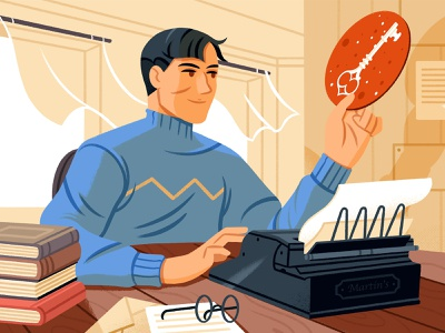 How to Write a Short Story editorial illustration editorial reedsy writing storytelling character illustration