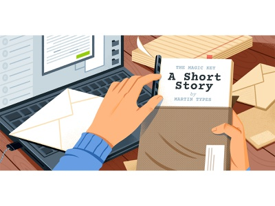 How to Publish a Short Story writing editorial illustration editorial reedsy design illustration