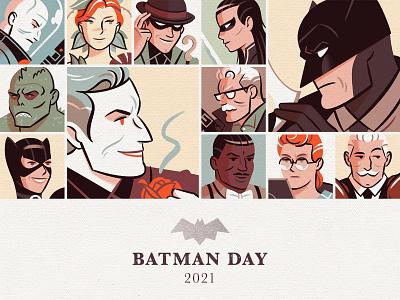 Batman Day 2021 (A) cartoon fanart joker comic book batman day batman design character illustration