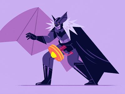Alternative Batman! procreate teaching drawing methodology process skillshare design character design character