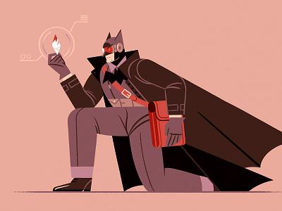 Alternative Batman! (2) procreate skillshare teaching process batman methodology drawing design character illustration