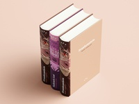 Illustrated Book Spines