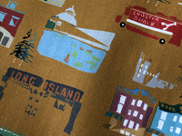 NYC print on fabric for Kip Yard