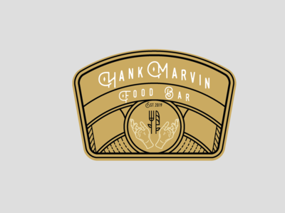 Hank Marvin Food Bar Logo