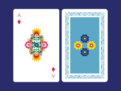 Polish folk inspired cards