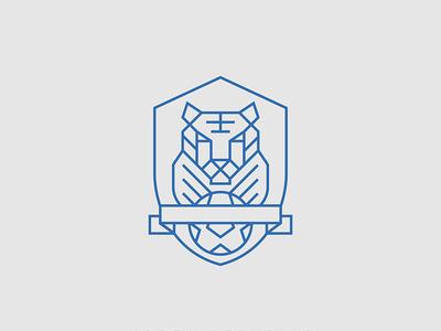 South Korea Badge Minimal Redesign