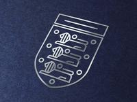 Minimal England Badge (Metallic)