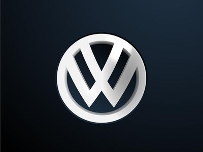Volkswagen Redesign Concept volskwagen inspiration mark logo identity car concept branding brand
