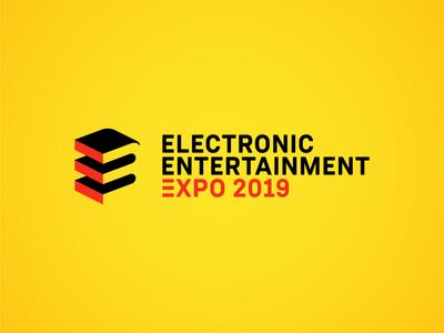 E3 Concept Logo logomark graphic inspiration nintendo xbox playstation rebrand redesign e3 videogames logo concept design branding brand