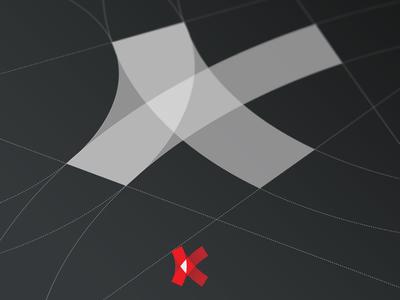 K-otic eSports Logo Grid red process grids videogames logo inspirations logofolio monogram k esports concept logo design