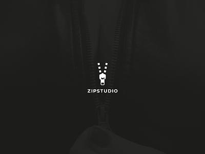 ZIP STUDIO zipper studio video logo