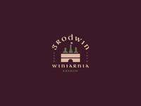 GRODWIN poland store shop flag box bottle castle city wine logo
