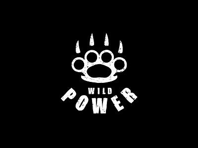 Wild power claws paws knuckle logo