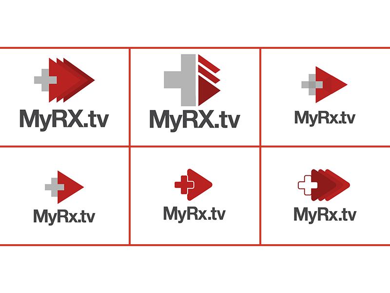 [WIP] MyRX Logo Take2 design logo basic medical rx shapes video