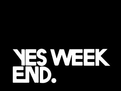 Yes We Kand typography obama weekend