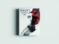 """Faust"" book cover design"