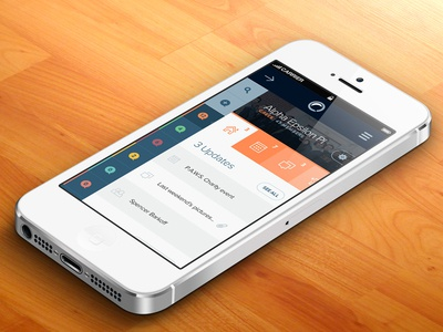 Emory Bubble mobile responsive view